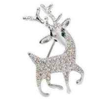 Cute Reindeer Brooch